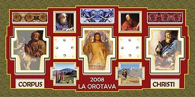Alfombras del Corpus 2008 en la Orotava