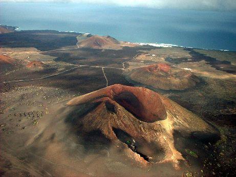 Timanfaya en Lanzarote