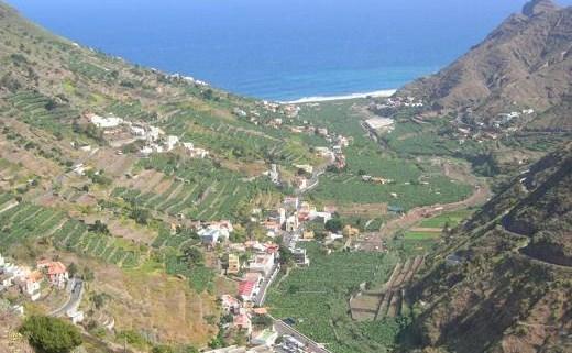 El Valle de Hermigua en La Gomera