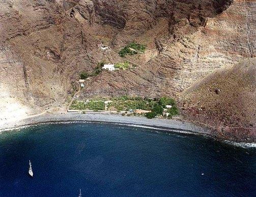 Playa de Argaga en Valle Gran Rey