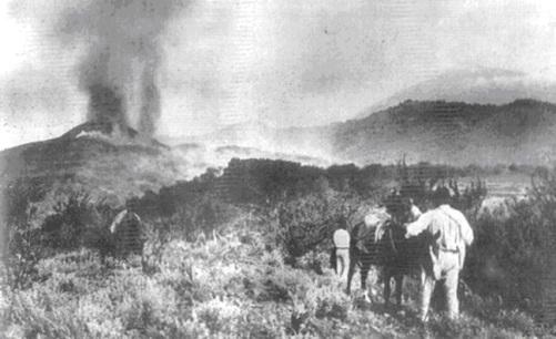 Chinyero, la ultima erupcion en Tenerife