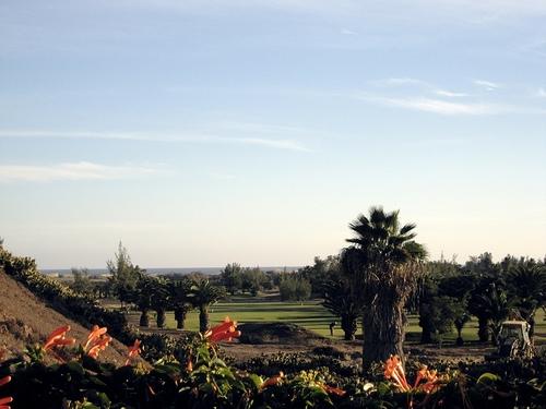 Golf en las Canarias