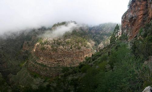 Barranco del infierno, senderismo en Tenerife