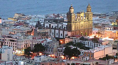 Barrio de Vegueta, la entrada de los españoles