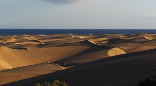 Las dunas de Maspalomas y sus playas