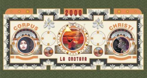 Alfombras de La Orotava 2009