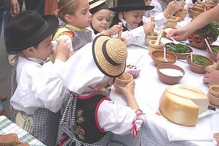 Dia de Canarias en los colegios