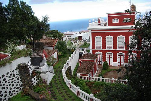 Vista de la villa de Mazo