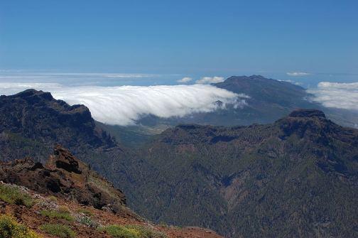 Cascada de nubes