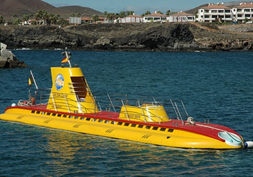 Viaje en submarino por la costa de Tenerife