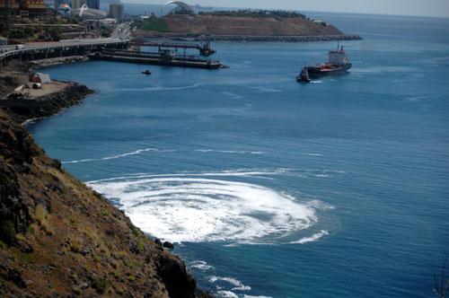 contaminacion en Canarias