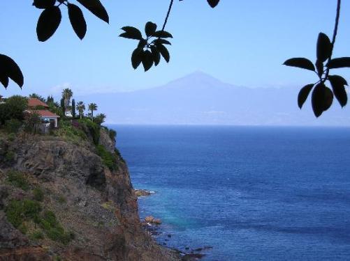 Vista del Teide desde la Gomera
