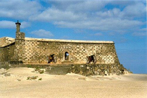 Castillo de San Gabriel en Lanzarote