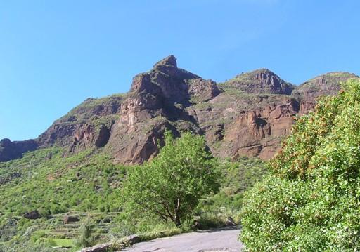 El Barranco de Guayadeque, en Gran Canaria