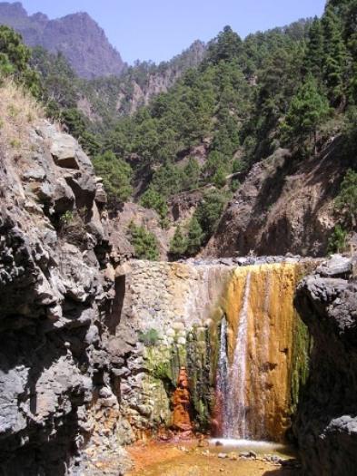 Cascadas de Colores de la Caldera de Taburiente