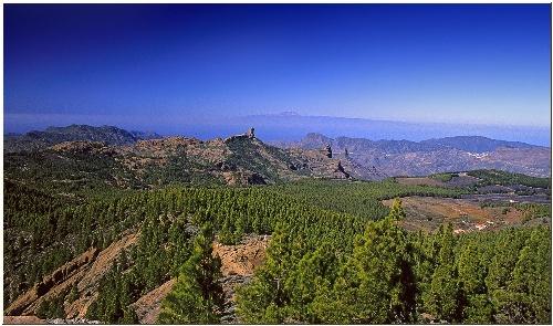 Paisaje de las Islas Canarias