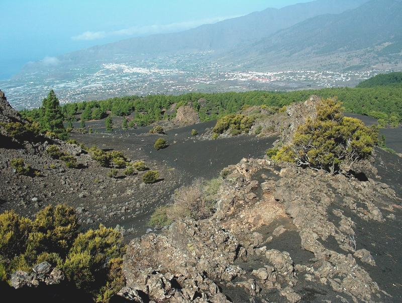 Parque Natural de la Cumbre Vieja, La Palma