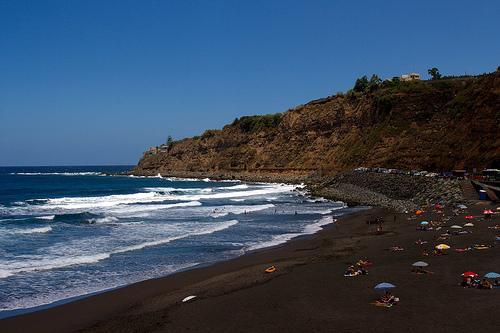 Playas de la costa de Los Realejos