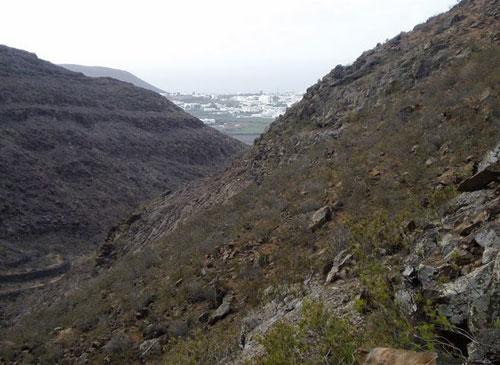 Barranco de Tenegüime, senderismo en Lanzarote