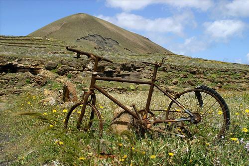 Bicicleta en Lanzarote