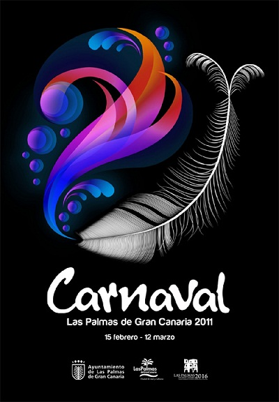 Plumardina, cartel oficial del Carnaval de Las Palmas 2011