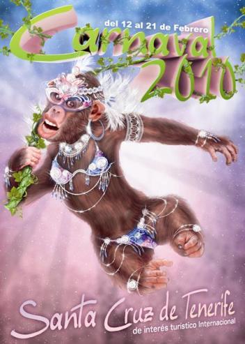 Carnaval 2010 en Tenerife y en Las Palmas