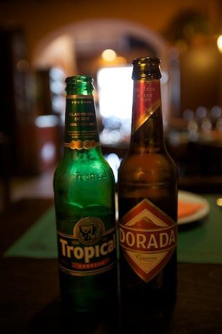Dorada y Tropical, cervezas canarias