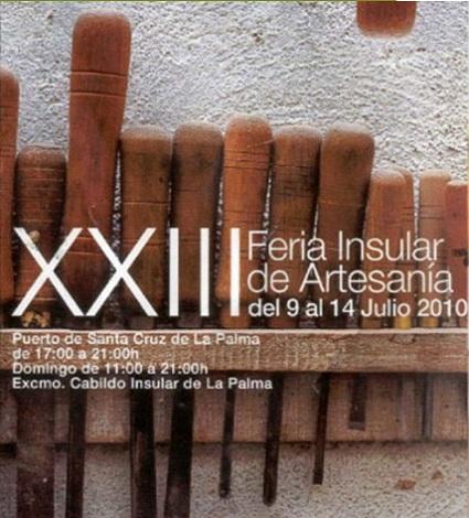 XXIII Feria de Artesanía Insular de La Palma