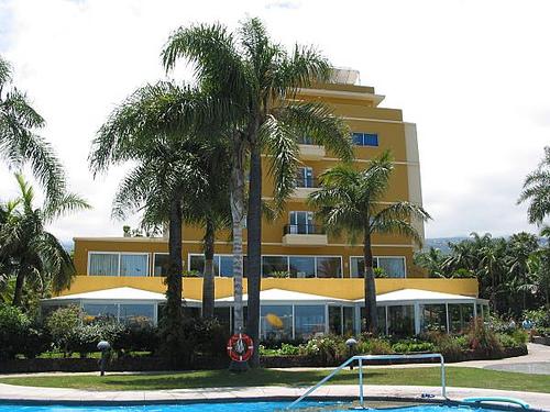 El Hotel Tigaiga en el Puerto de la Cruz