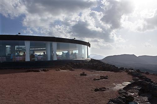 El paisaje volcánico de Lanzarote
