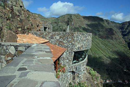 Algunos miradores en La Gomera