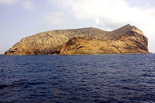 Montaña Clara, un islote de película