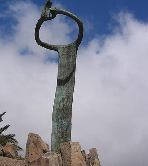Monumento al Silbo de La Gomera