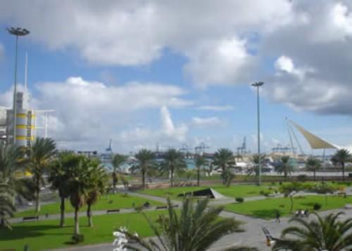 El Parque de Santa Catalina en Las Palmas
