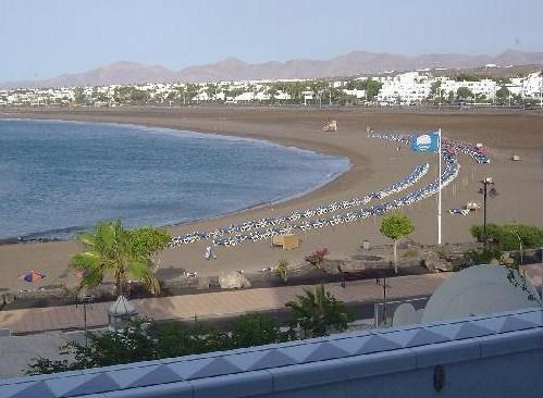 La Playa de los Pocillos en Lanzarote
