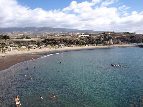 Playa de San Juan en Tenerife