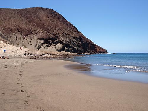 La Playa de la Tejita en Tenerife