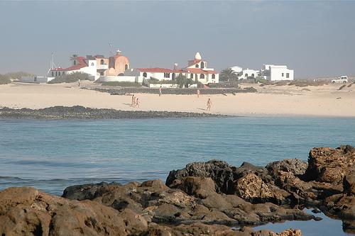 La Playa de los Lagos en El Cotillo, Fuerteventura