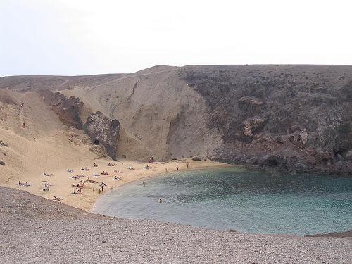 Las Playas del Papagayo, en Lanzarote