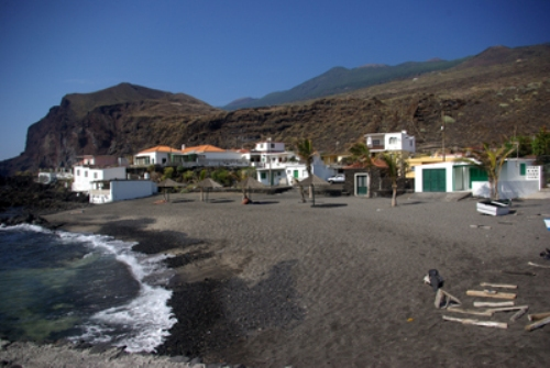 La Playa de la Salemera en La Palma