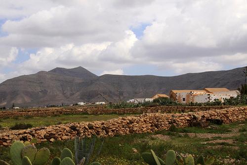 Tefía, pueblo con encanto en Fuerteventura