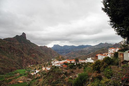 Tejeda, el hogar del Roque Nublo