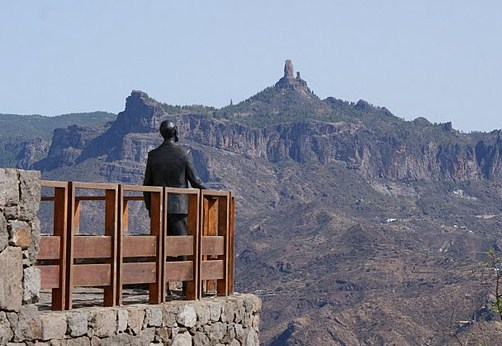 Balcon de Unamuno en Artenara