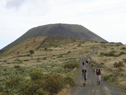 El Volcán de la Corona en Lanzarote